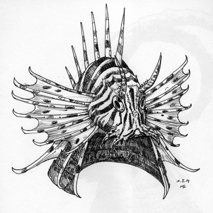 kabuto, lionfish