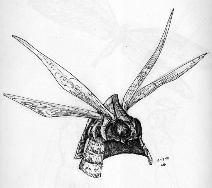 kabuto, dragonfly